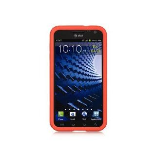 Red Soft Silicone Gel Skin Cover Case for Samsung Galaxy S2 HD LTE SGH i757 Cell Phones & Accessories