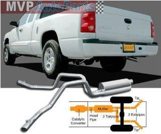 Gibson Performance Exhaust 6562 Aluminum Dual Extreme Exhaust System Automotive