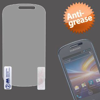MyBat Samsung S738C Anti Grease LCD Screen Protector   Retail Packaging   Clear Cell Phones & Accessories