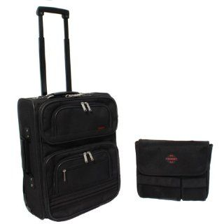 Trident Rolling Carry On Laptop Case with Removable Sleeve   Black Computers & Accessories