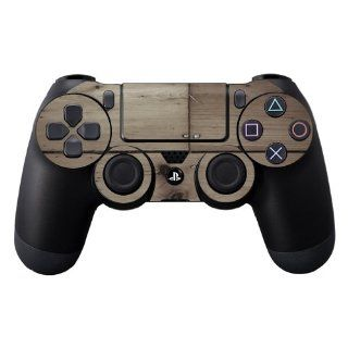 MightySkins Protective Vinyl Skin Decal Cover for Sony PlayStation DualShock 4 Controller Sticker Skins Wooden Video Games