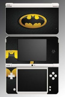 Original Retro Batman Logo Bat Man Joker Comic Movie Cartoon TV Show Video Game Vinyl Decal Cover Skin Protector for Nintendo DSi XL Console System Video Games