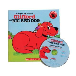 Clifford Big Red Dog Book and CD Toys & Games