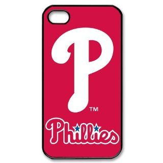 MLB Philadelphia Phillies Iphone 4/4s Case Special Design Mlb Series Iphone 4/4s Cases Cover Cell Phones & Accessories