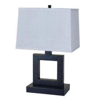 ORE International 8137B 22 in. Square Table Lamp   Dark Bronze   Table Lamps