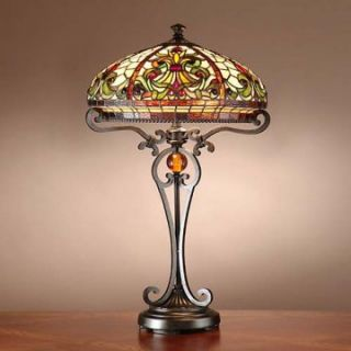 Dale Tiffany TT101114 Boehme Tiffany Table Lamp   Table Lamps