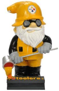 "Pittsburgh Steelers NFL Garden Gnome 11"" Thematic   Second String  Sports Fan Outdoor Statues  Sports & Outdoors"