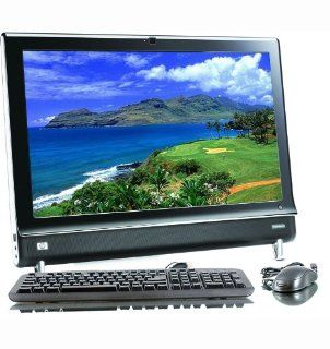 "HP Touchsmart 9100 INTEL Core 2 Duo 2100MHZ 250Gig Serial ATA HDD 4096mb DDR3 Memory DVD RW Genuine Windows 7 Professional 32 Bit + 23"" Flat Panel LCD Monitor Desktop PC Computer  Computers & Accessories"