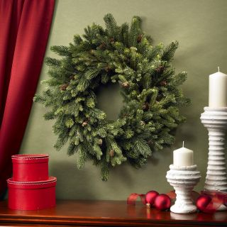 30 in. Pine & Pinecone Wreath   Christmas Wreaths