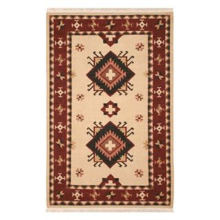Rizzy Rugs Swirl SW 386 Diamond Area Rug   Cream   Area Rugs