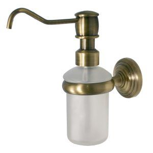 Allied Brass WP 60 BBR Brushed Bronze Waverly Place Wall Mounted Soap Dispenser