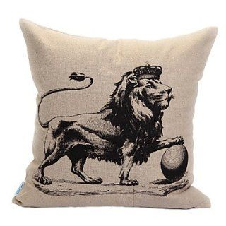 Lion King Print Decorative Pillow Cover   Childrens Pillowcases