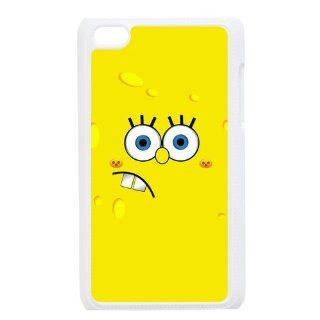 Cartoon SpongeBob SquarePants Personalized Music Case Ipod Touch 4th Case Cover for Ipod Touch 4th Generation IT4SS158   Players & Accessories