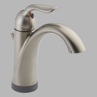 Delta Lahara 15938T Single Handle Bathroom Sink Faucet with Touch2o Technology   Bathroom Sink Faucets