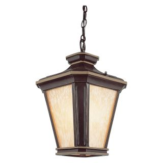 Trans Globe 5845 BGO Pole Lantern   Brown W/Gold   10.75W in.   Outdoor Post Lighting