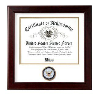 Allied Frame United States Navy Certificate of Achievement Frame   Document Holders