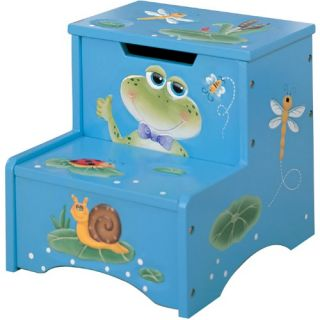 Fantasy Fields Happy Creatures Step Stool with Storage   Specialty Chairs