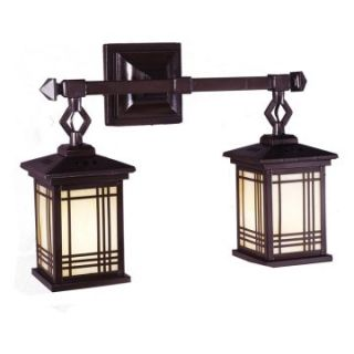 Dale Tiffany Avery Lantern 2 Light Wall Sconce   18.25 watt in. Antique Bronze   Tiffany Wall Lights