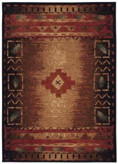 Capel Badin 2366 Area Rug   Coffee Multi