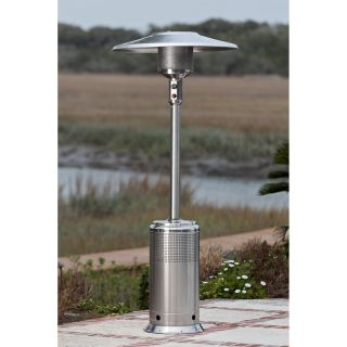 Fire Sense PRO Series Stainless Steel Commercial Patio Heater 46k BTU   Patio Heaters