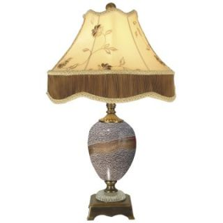 Dale Tiffany Granite Stone Table Lamp   Table Lamps