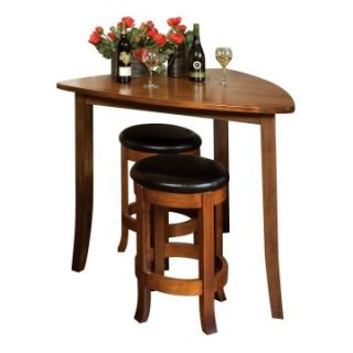 Trilogy Triangle Counter Height Pub Table   Pub Tables
