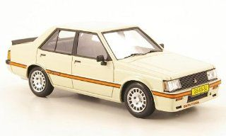 Mitsubishi Lancer EX 2000 Turbo PW, creme white, 1980, Model Car, Ready made, Neo 143 Neo Scale Models Toys & Games