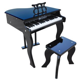 Schoenhut 37 Key Black Elite Baby Grand Piano   Kids Musical Instruments
