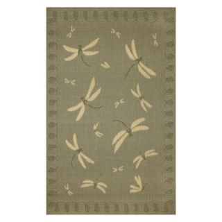 Trans Ocean Import Co Terrace Dragonfly Indoor / Outdoor Rugs   Area Rugs