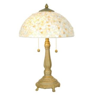 Dale Tiffany Clear Mosaic Table Lamp   Table Lamps