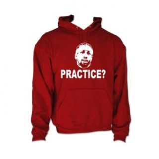 "Shedd Shirts Men's Allen Iverson Philadelphia ""Practice"" Hooded Sweatshirt Novelty Hoodies Clothing"