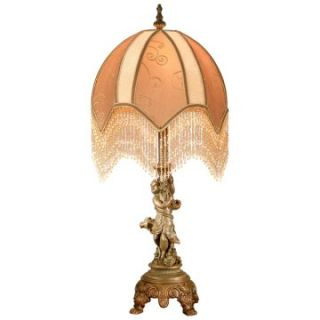 Dale Tiffany Cherub Victorian Table Lamp   Table Lamps