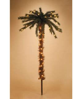 Sterling 36 in. 70 ct. Clear Light Pre Lit Pathway Palm Tree   Christmas Lights