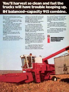 1977 Ad International Harvester Agricultural Equipment 915 Corn 815 715 Diesel   Original Print Ad