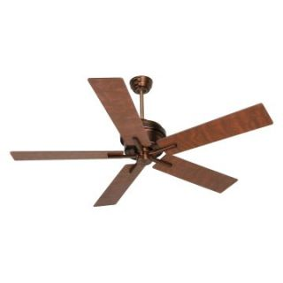 Craftmade GR52AC Grant 52 in. Indoor Ceiling Fan   Aged Copper   Ceiling Fans