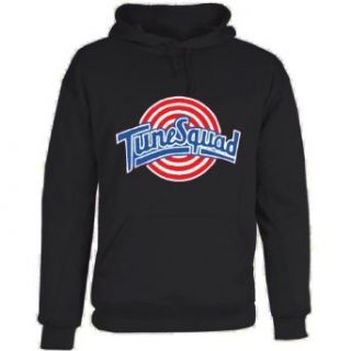 Shedd Shirts Men's Space Jam Tune Squad Hooded Sweatshirt Novelty Hoodies Clothing