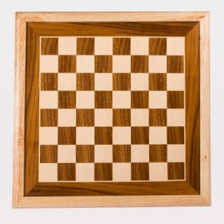 Classic Wooden Pedestal Chess Board   Chess Boards