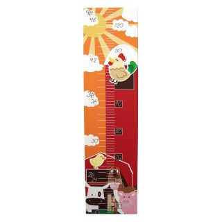Animal Farm Magnetic Growth Chart   32W x 8H in.   Decor