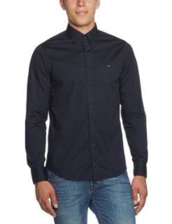 Tommy Hilfiger Men's Casual Shirt STRETCH POPLIN SF2 / 857 837 824 (M / 50) at  Men�s Clothing store