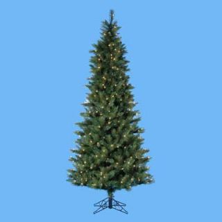 7.5 ft. Designers Series Classic Pre Lit Christmas Tree   Green   Christmas Trees
