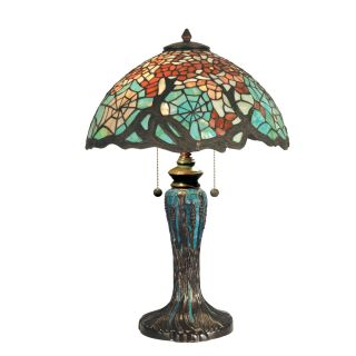 Dale Tiffany Cobweb Tiffany Table Lamp   Table Lamps