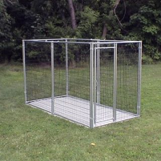 Options Plus Commercial Grade Welded Wire 9 Gauge Heavy Duty Kennel   Dog Kennels