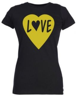 Spoilt Rotten   Love Heart   100% Organic Cotton Women's T Shirt Clothing