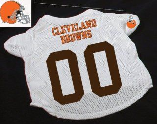 Officially Licensed by the NFL   Cleveland Browns Dog Football Jersey   X Large (XL)  Pet Shirts