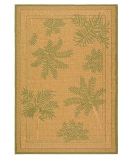Safavieh Courtyard CY6683 Area Rug Natural/Green   Area Rugs