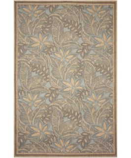 TransOcean Tommy Bahama Thatcher Decker Indoor/Outdoor Area Rug   Turquoise   Area Rugs