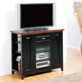 LEIck 87032 Riley Holliday Black Cherry 42 in. High TV Console   TV Stands