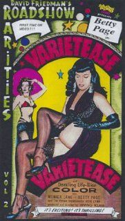Varietease [VHS] Cass Franklin, Irving Klaw, Monica Lane, Vicki Lynn, Christine Nelson, Bettie Page, Bobby Shields, Lili St. Cyr, Twinnie Wallen Movies & TV