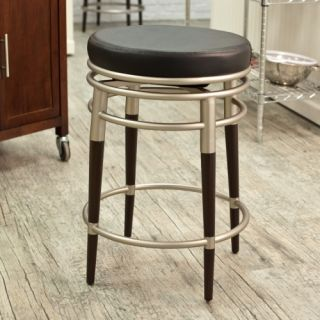 Hillsdale Salem 27 in. Backless Swivel Counter Stool   Bar Stools