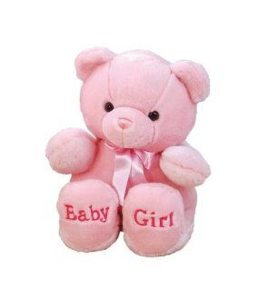 Aurora Plush Baby 36 inches  Comfy Pink Baby Girl Bear Toys & Games
